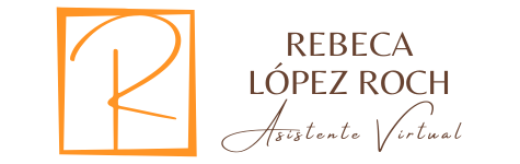 Logotipo Rebeca López Roch